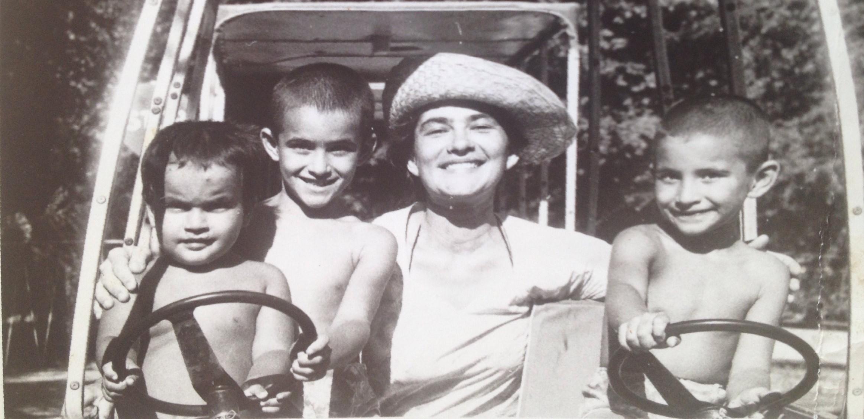 14 Galina and children